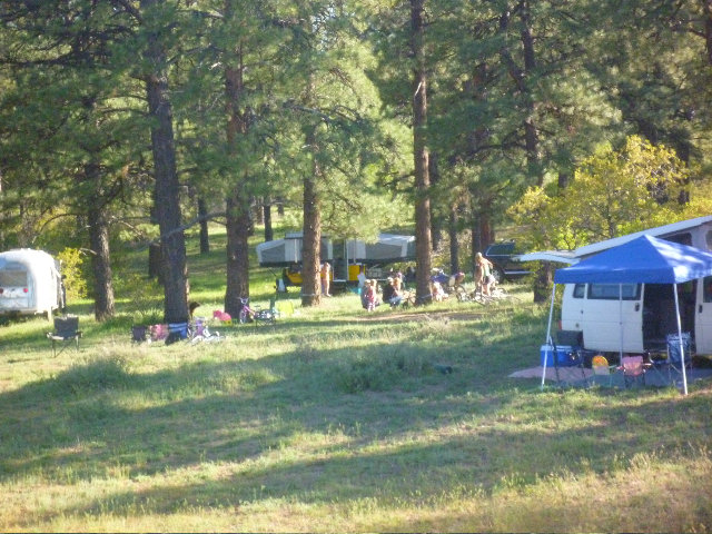 Boogy Draw Camping